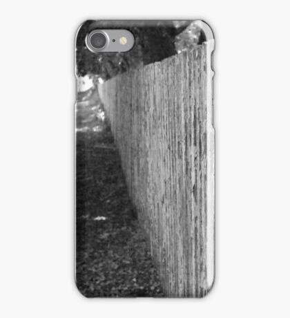 fence iPhone Case/Skin