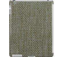 Green fabric texture iPad Case/Skin