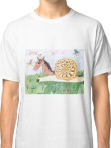Snail Horse Penelope And The Clouds Classic T-Shirt