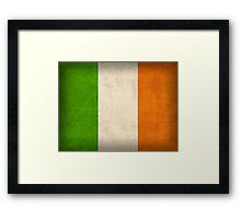 Ireland Flag Framed Print