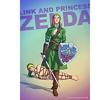 Princess Zelda BADASS Photographic Print