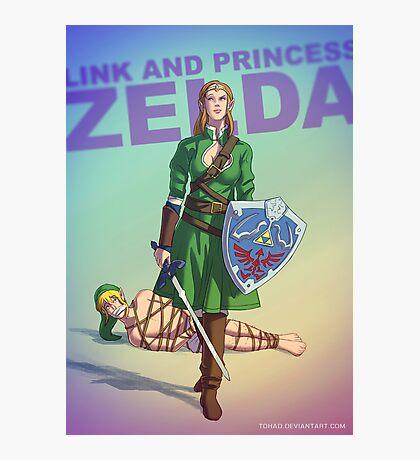 Princess Zelda BADASS Photographic Print