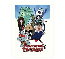 Adventure Time-Lord Generation 12 Art Print