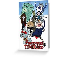 Adventure Time-Lord Generation 12 Greeting Card