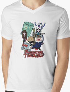 Adventure Time-Lord Generation 12 Mens V-Neck T-Shirt