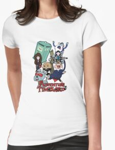 Adventure Time-Lord Generation 12 Womens Fitted T-Shirt