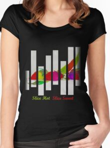 Slice Hot Slice Sweet Women's Fitted Scoop T-Shirt