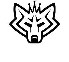 NSL Crown Wolf Photographic Print