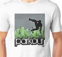 Parkour3_green Unisex T-Shirt