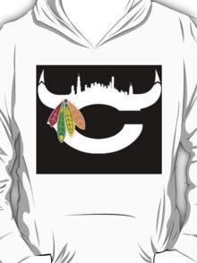 Chicago Bulls/Bears/Hawks Logo # 2 T-Shirt