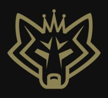 NSL Crown Gold Wolf by northsidelife