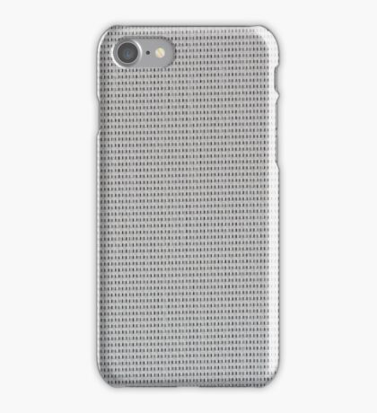 Grey vinyl texture iPhone Case/Skin