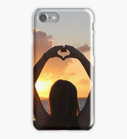 Turks and Caicos Silhouette iPhone Case/Skin