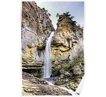 Amazing waterfall Poster