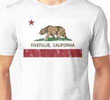 Riverside California Republic Distressed  Unisex T-Shirt