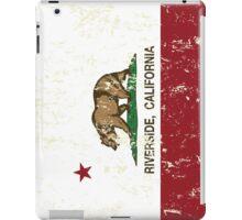Riverside California Republic Distressed  iPad Case/Skin