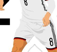 Mesut Özil (Ozil) - Minimalistic Design #1 Sticker