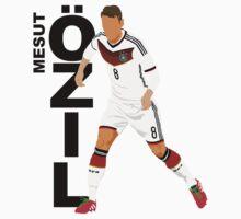 Mesut Özil (Ozil) - Minimalistic Design #1 by CongressTart