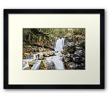 Beautiful waterfall Framed Print