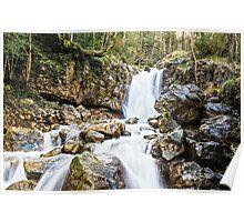 Beautiful waterfall Poster