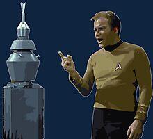 The Original Series: Kirk & Nomad Photographic Print