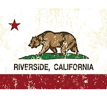 Riverside California Republic Distressed Photographic Print