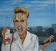 Patsy Stone - Cheers! by bazzk