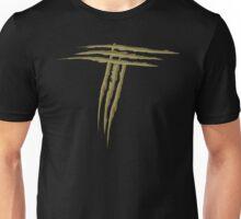 NSL Letter T Gold Scratch T-Shirt