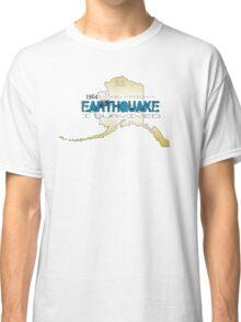 GOLDEN ALASKA EARTHQUAKE ~ I SURVIVED Classic T-Shirt
