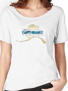 GOLDEN ALASKA EARTHQUAKE ~ I SURVIVED Women's Relaxed Fit T-Shirt