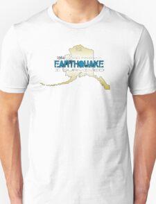 GOLDEN ALASKA EARTHQUAKE ~ I SURVIVED T-Shirt
