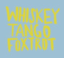 Whiskey Tango Foxtrot - Color Edition One Piece - Short Sleeve