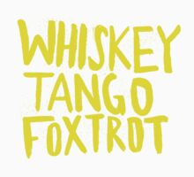 Whiskey Tango Foxtrot - Color Edition Kids Tee