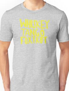 Whiskey Tango Foxtrot - Color Edition Unisex T-Shirt