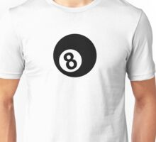 Billiards eight 8 ball Unisex T-Shirt