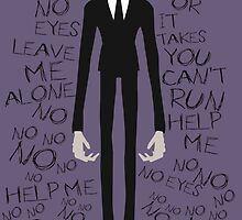 SLENDER MAN The 8 Pages Poster by KunFuzi