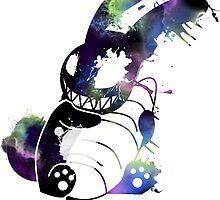 Crazy Bunny Graffiti by zerojigoku