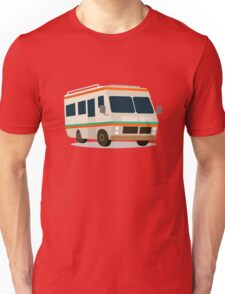 Vintage RV camper cartoon Unisex T-Shirt