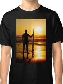 A surfer watching the waves Classic T-Shirt