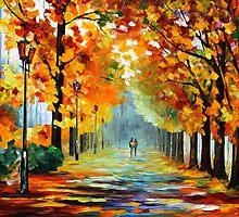 SUNNY OCTOBER by Leonid  Afremov