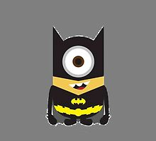Minion Batman by msashleynicolee