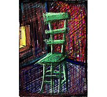 Lonely Chair Photographic Print