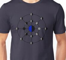 Earth-Moon Phases Unisex T-Shirt