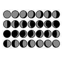 Lunar Calendar Photographic Print