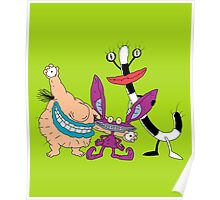 Aaahh!!! Real Monsters! Poster