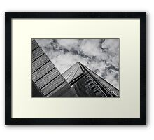 Zigzag ~ The Shard, London Framed Print