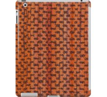 Orange vinyl texture iPad Case/Skin