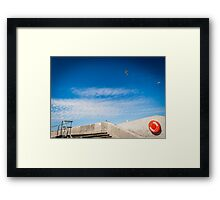 Where Is The Sea? Framed Print