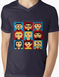 Buffy 8-Bit Mens V-Neck T-Shirt
