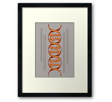 Gaming DNA Framed Print